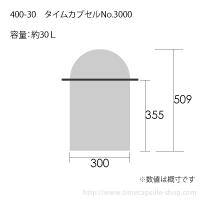 タイムカプセルNo.3000サイズ